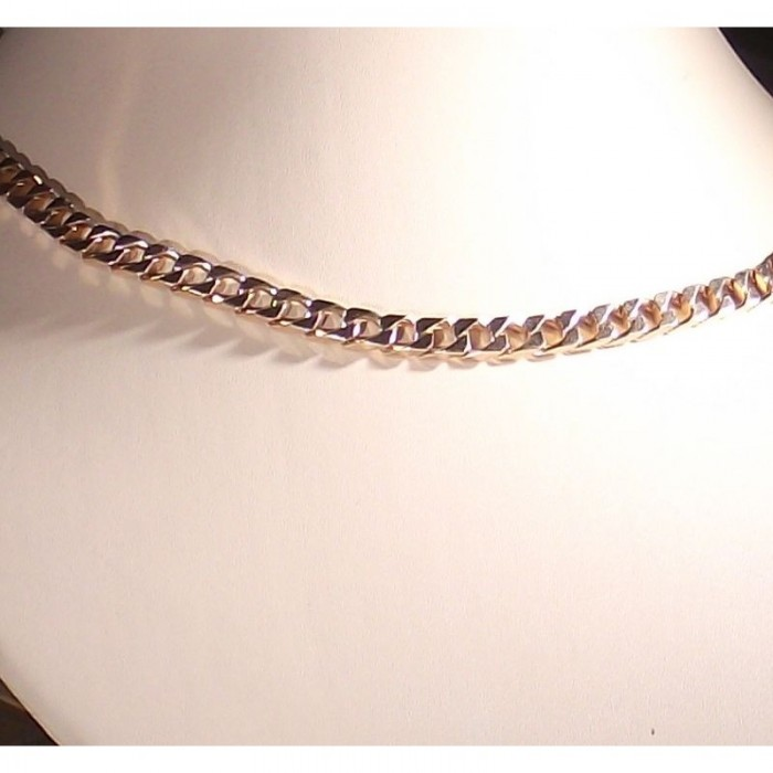 "Серебряная цепочка ""Квадратный панцирь"" 60 размера"
