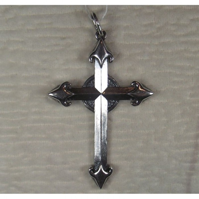 """Серебряная подвеска """"Крест рыцаря"""""""