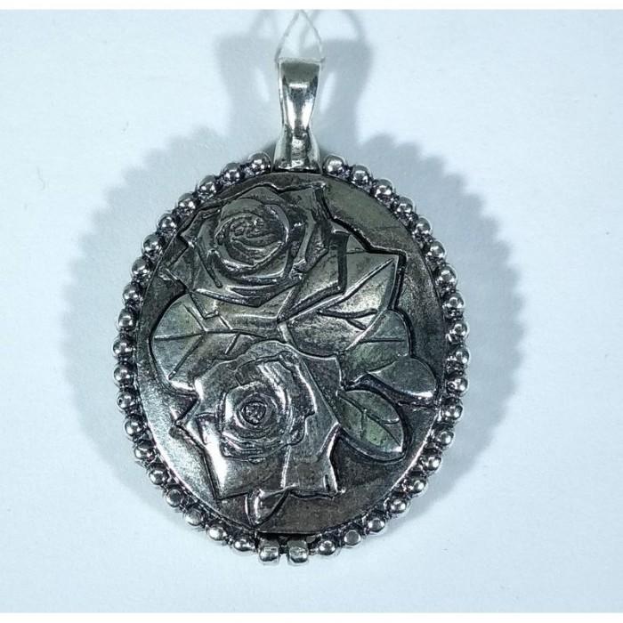 Серебряная подвеска Медальон